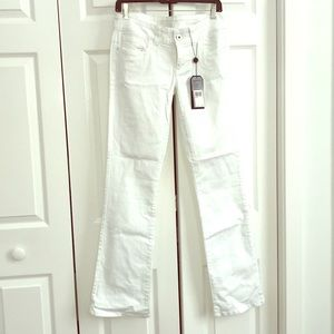 Guess Daredevil Bootcut white denim